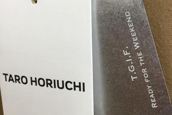 taro horiuchi ISETANサローネ別注