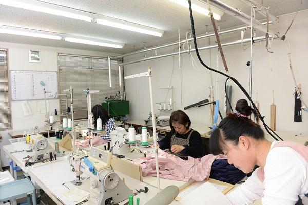 縫製の仕事は女性の方がむいていると思うのはボクだけ