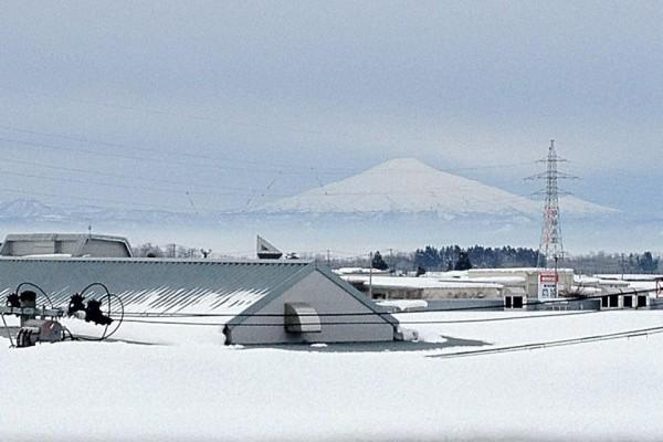 2012.01.014年前の鳥海山