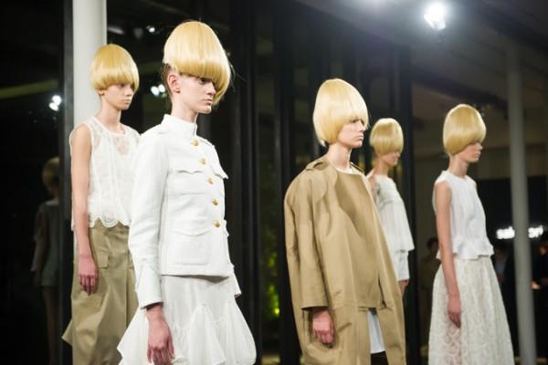 sakayori Luxe   2016ss コレクションを縫製中