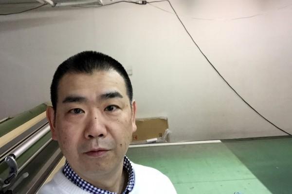 アウトレットで買ったチャックのシャツにKeisuke okunoya綿ニット着てみたら、これが似合うでしょ(笑)