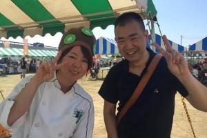 埼玉県蓮田市でキウイフルーツ農園を営むキュイキュイさんと♪