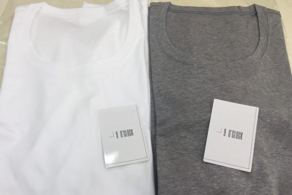 ナインオクロックのTシャツを買ってみた。